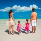 A family stay in a vacation rental in Mauritius