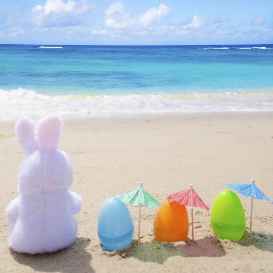 easter-bunny-on-beach-483874507